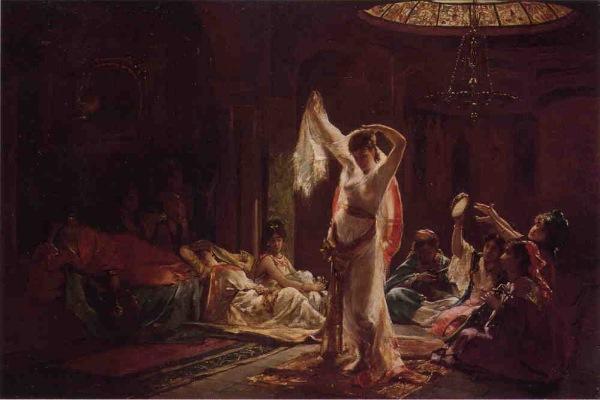 Harémová tanečnica