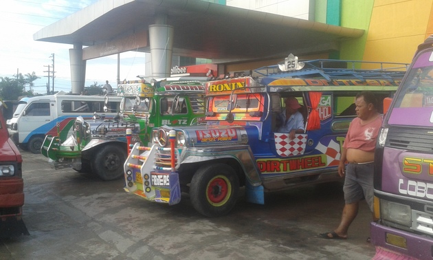 Tabgilaran, autobusové nádražie