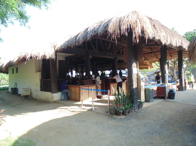 odletová hala El Nido