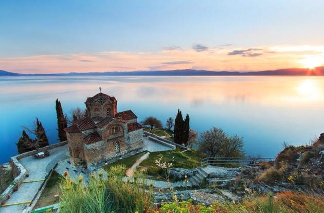 jazero Ohrid, Macedónsko