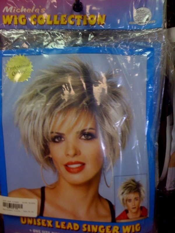 lead singer wig