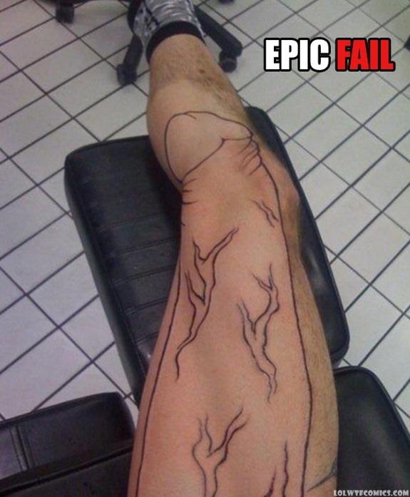 cock tattoo